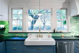 Green Backsplash Kitchen The History Of Subway Tile Our Favorite Ways To Use It Hgtv U0027s