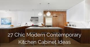 modern kitchen cabinet design ideas 27 chic modern contemporary kitchen cabinet ideas sebring