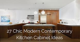 modern kitchen ideas with oak cabinets 27 chic modern contemporary kitchen cabinet ideas sebring
