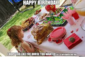 Horse Birthday Meme - a horse for birthday by demmemes meme center