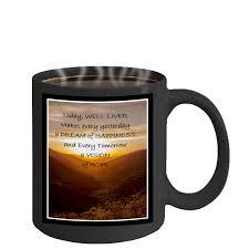 Novelty Coffee Mugs by Salutation To The Dawn U2013 Inspirational Coffee Mug U2026 U2013 Mugszy