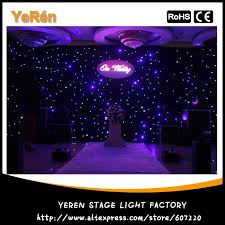 wedding backdrop led light curtain wedding backdrop led cloth stage background