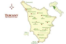 Cities In Italy Map by Tuscany Cities Map And Tourism Guide