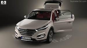 hyundai tucson 2016 interior 360 view of hyundai tucson with hq interior 2016 3d model hum3d