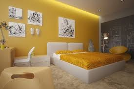 deco chambre jaune déco chambre mur jaune projet maison murs jaunes