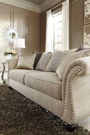living room leather and microfiber sectional sofa design ideas