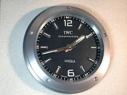 the ingenieur wall clock forum iwc schaffhausen