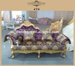 French Style Chaise Lounge Chairs Arabic Majilis Wedding Sofa Antique French Luxury Chaise Lounge
