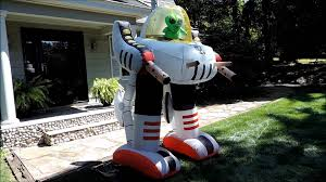 alien robot halloween inflatables by morbid youtube