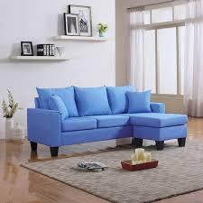 Modern Blue Sofa Sofa Recliner Modern Living Room Furniture Black Buy