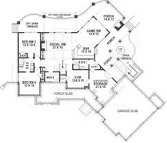 Open Ranch Floor Plans Harmony Ranch Rustic Floor Plan Mountain House Plans