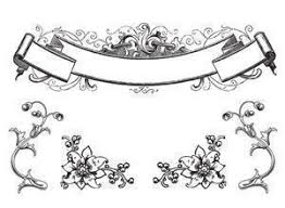 free antique ornaments scroll brushes decorative photoshop
