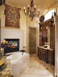 Tuscan Bathroom Houzz - Tuscan bathroom design