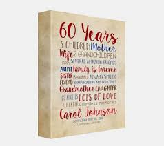 birthday gifts for 60 year olds birthday gift for 60th birthday 60 years gift for