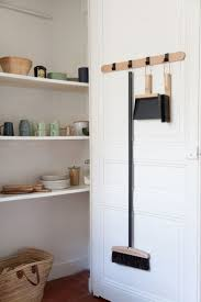 best 25 broom holder ideas only on pinterest cheap ironing interior home larder storage shelving pantry white kitchen