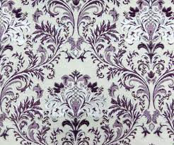 Upholstery Fabric For Curtains Purple Silver Damask So Fabric By The Yard Curtain Fabric