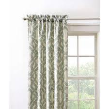 Emery Drapes Geometric Curtains U0026 Drapes Window Treatments The Home Depot