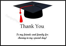 graduation thank you card graduation thank you cards designeffex