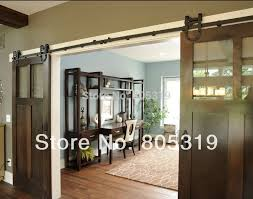Sliding Door Wood Double Hardware by Double Sliding Doors