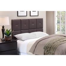 foremost tessa espresso full queen headboard tht 61013 pu brn fq