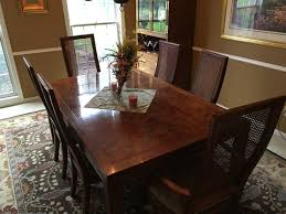 Henredon Dining Room Table by Henredon Dining Table And 6 Chairs Marva U0027s Placemarva U0027s Place
