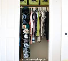 clothes cupboard clothing organization tricks storage ideas for people with too