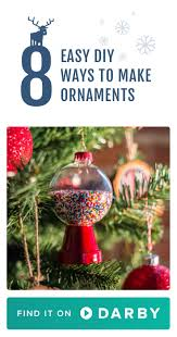 craft your own christmas decor with these easy diy ornament