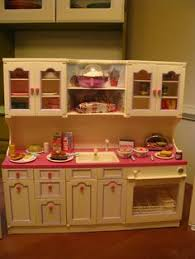 vintage toy kitchen orange tiles 1 brand joustra by naralna via
