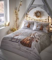 christmas bedding ebay