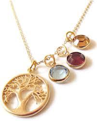 birthstone gift new savings on birthstone necklace family tree birthstone