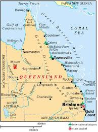 map of queensland map of queensland showing mount isa image mining technology