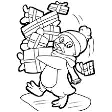 Penguin Coloring Pages Free Printable For Kids Penquin Coloring Pages