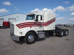 1993 kenworth t800 semi truck with 60