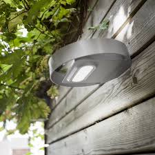 Solar Powered Wall Lights Uk - lutec lord solar powered 1w led 100 lumen exeterior wall light