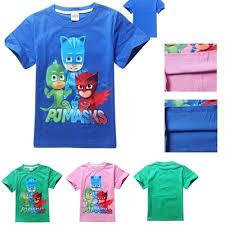 qoo10 2016 boy shirt shirts kids baby pj masks