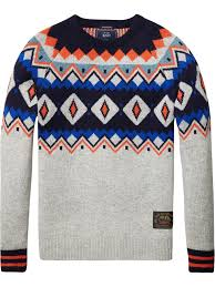 fair isle knit pullover pullovers clothing at scotch soda