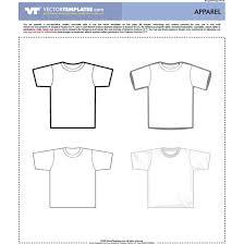 vector t shirt templates download at vectorportal
