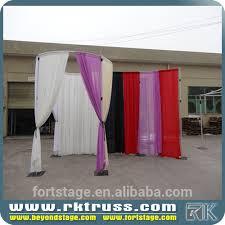 Wedding Backdrop And Stand Rk Wedding Backdrop Curtains Wedding Backdrop Stand Buy Organza