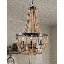 wood ceiling lights for less overstock com