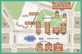 Bronx Bus Map 27 Broadway Manton