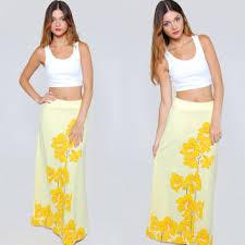 hawaiian pattern skirt best tropical print maxi skirts products on wanelo