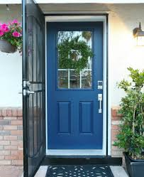 painted front door how to paint a front door without removing it classy clutter