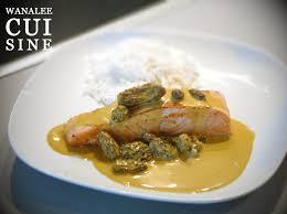 cuisiner les morilles filet de saumon sauce safranée aux morilles wanalee cuisine