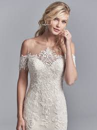 the shoulder wedding dress maggie sottero