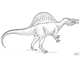spinosaurus coloring pages to download and print for free