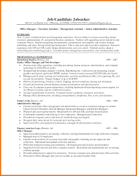 assistant resume objective brilliant executive assistant resume