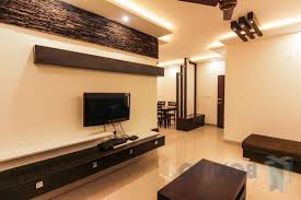 L Shape False Ceiling Design