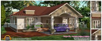 flat house design attached one floor house kerala home design plans house plans
