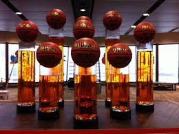 basketball centerpieces sports centerpieces new orleans louisiana fancy faces decor