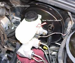 how to replace a brake master cylinder in 45 minutes